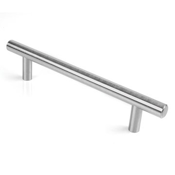 BRUSHED SATIN NICKEL BAR PULL      5 BORE