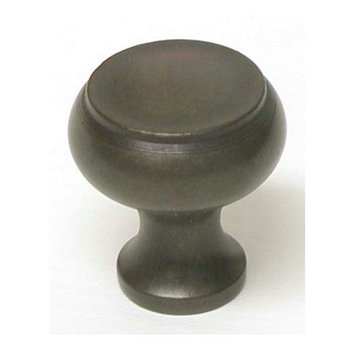 Top Knobs Normandy Oil Rubbed Bronze Knob - 1 1/8 Inch