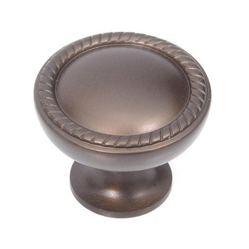 Top Knobs Emboss Knob Oil Rubbed Bronze