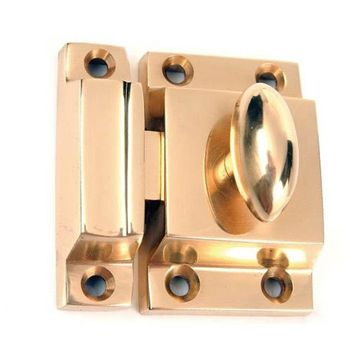 Nostalgic Warehouse Brass Flush Latch