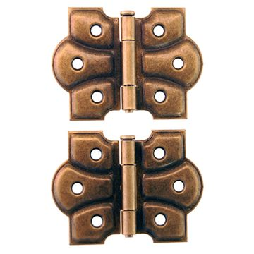 SURFACE MOUNT STEEL DECORATIVE HINGE