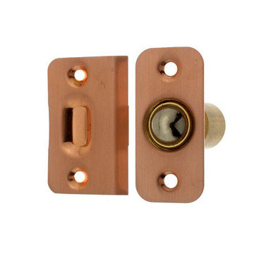 idh by St. Simons Solid Brass Roller Ball Door Catch