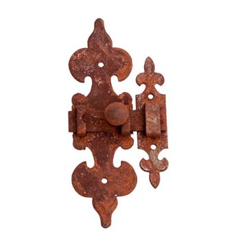 Restorers Ornate Sliding Latch W/Catch