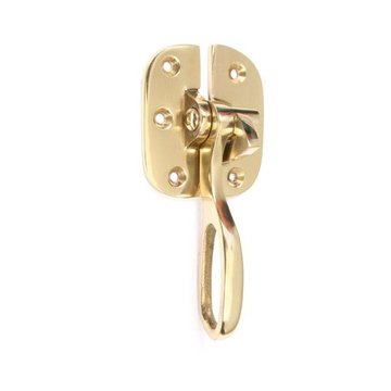 Restorers 4 Inch Brass Icebox Latch and Catch