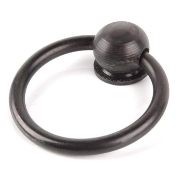 BLACK WROUGHT IRON 2 1/8 RING