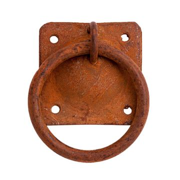 RUSTY IRON RING PULL