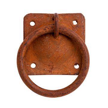 RUSTY IRON RING PULL