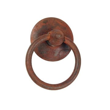 RUSTED ROSETTE & RING PULL