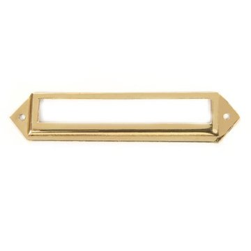 POL BRASS CARD HOLDER