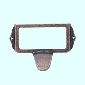 LABEL HOLDER WITH PULL 101082