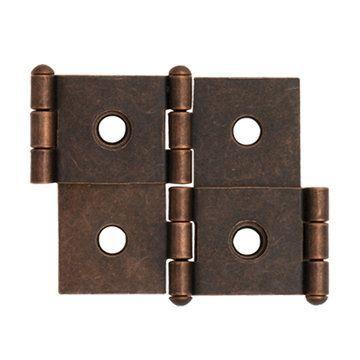 Restorers Classic Steel Room Divider Panel Hinge - Bronze