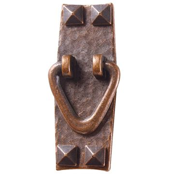 ANTQ COPPER STICKLEY CABINET DOOR PULL