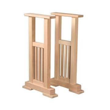 MISSION SOFA TABLE PEDESTAL KIT