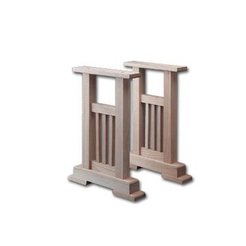 MISSION END TABLE PEDESTAL KIT