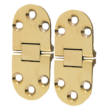 Solid Brass Flip Top Table Hinge