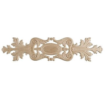 BIRCH EMBOSSED APPLIQUE 4 1/2 X 19 7/8