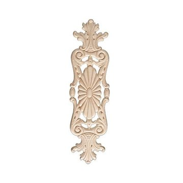 BIRCH EMBOSSED APPLIQUE 3 3/4 X14
