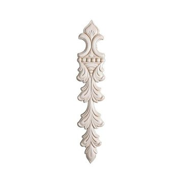 BIRCH EMBOSSED APPLIQUE 1 3/4 X 9 1/4