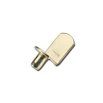 S353-10 SHELF REST BRASS PLATED STEEL PKG OF 10