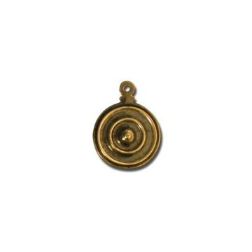 Brass 1 5/8 Inch Bolt Hole Cover