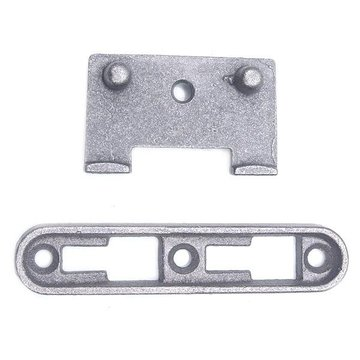 Cast Iron Bed Rail Slide Fasteners