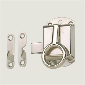 Restorers Ring Lift Style Door Latch Set