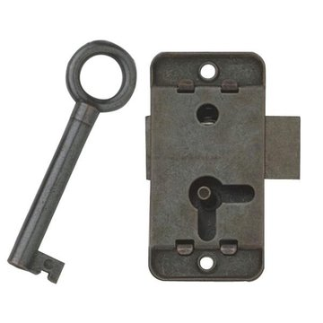 Antique Bronze Non Mortise 2 Inch Lock Set
