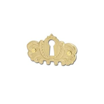 Restorers Classic Brass Keyhole Escutcheon