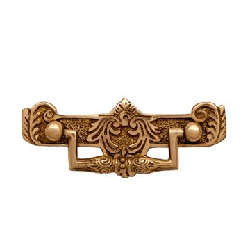 Restorers Ornate Brass Victorian Bail Pull