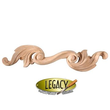 Legacy Hand Carved Leaves Wooden Pull
