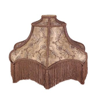 Mocha Brown Fabric Lamp Shade