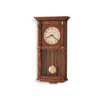 MISSION WALL CLOCK HERITAGE OAK *DS*PPD SHIP