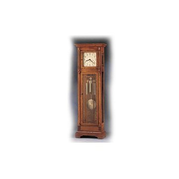 MISSION FLOOR CLOCK-HERT  OAK H 79 1/2   *DS*PPD*