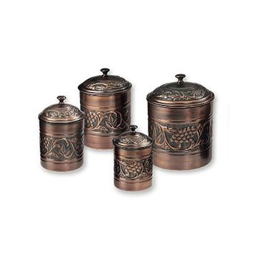 4 PC. CANISTER SET