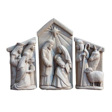 3 PIECE NATIVITY SET *DS*
