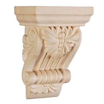 Legacy Signature 5 1/4 Inch Leaf And Bead Corbel