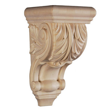 "Legacy 9 5/8"" Acanthus Leaf Scroll Corbel"