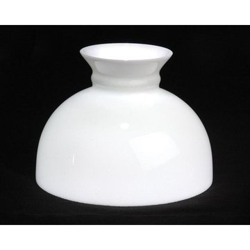 10 Inch Glass Student Lamp Shade White