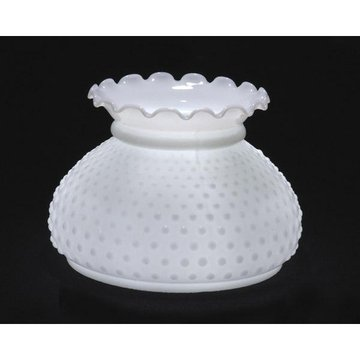 Opal Hobnail Lamp Shade