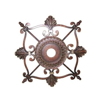 ESPRESSO DECORATIVE MEDALLION      *DS*