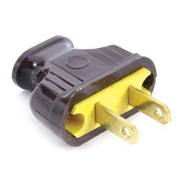 Brown Bakelite Plug