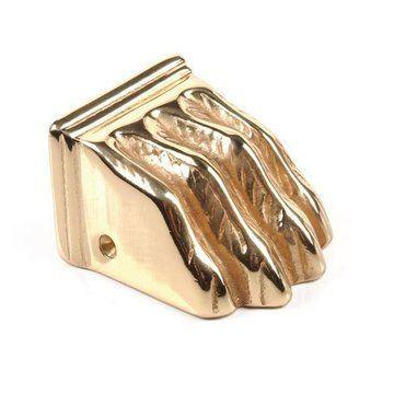 Restorers Solid Cast Brass Pawfoot