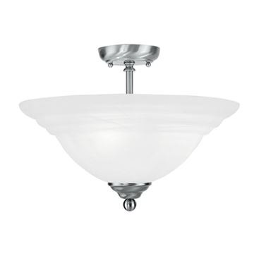 NORTH PORT SEMI FLUSH CEILING LIGHT
