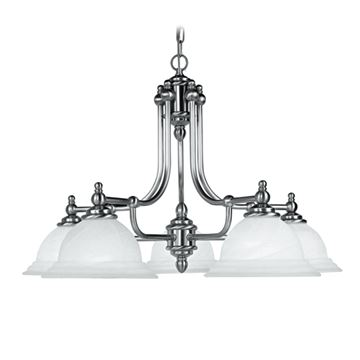 NORTH PORT 5 LIGHT PENDANT LIGHT