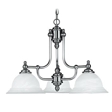 NORTH PORT 3 LIGHT PENDANT LIGHT