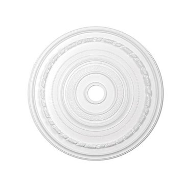 Resin Ceiling Medallion - 36 1/8 Inch