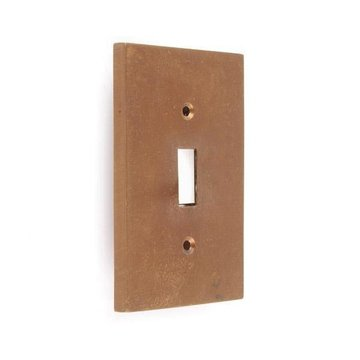 SOLID BRONZE SWITCHPLATE