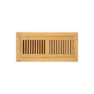 Solid Oak Flush Mount Registers