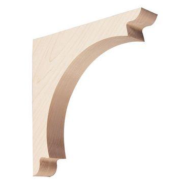 Designer 10 Inch Curved Bracket
