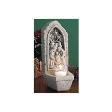 NATIVITY VOTIVE *DS* 10 3/4HX3 3/4W X4 1/2D